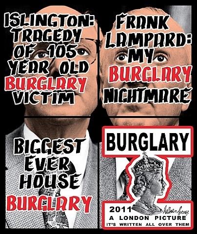 burglary by gilbert & george