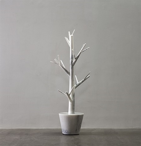 marble tree by ai weiwei