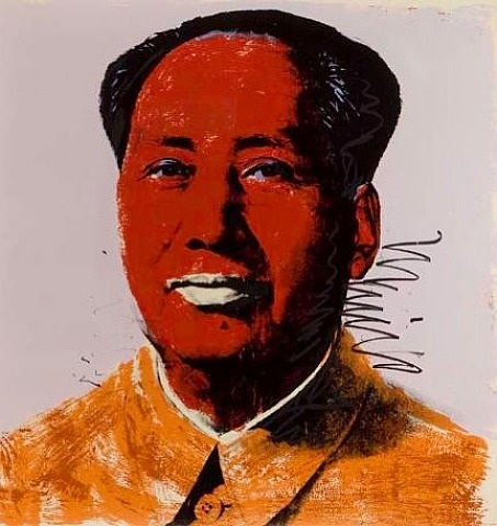 mao by andy warhol
