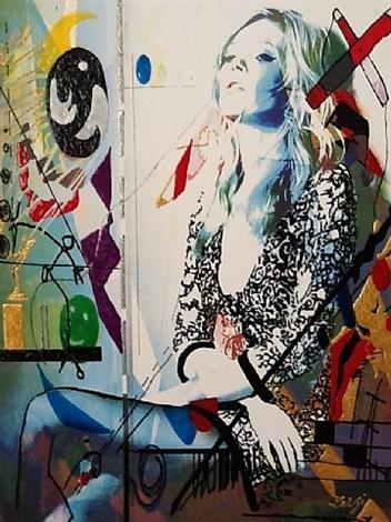 kate (basquiat) by richard zarzi