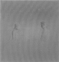 untitled (men facing each other) by janis avotins