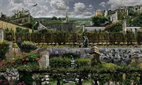 potager du roi by jean-francois rauzier