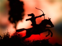untitled from the series wild west by david levinthal