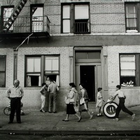 108th st. east, new york, ny, september 28 by vivian maier