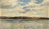danube near vienna by marie egner