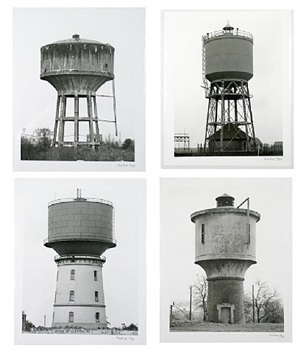 chateaux d'eau by bernd and hilla becher