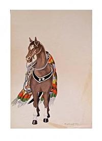 caballo by tamara de lempicka