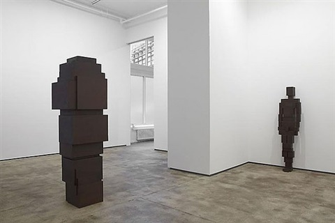installation shot: bodyspace by antony gormley