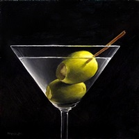 dirty martini (sold) by michael naples