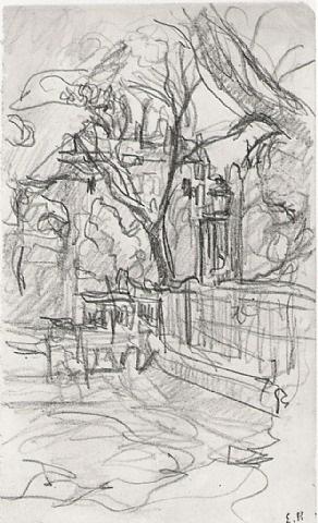 place vintimille by edouard vuillard