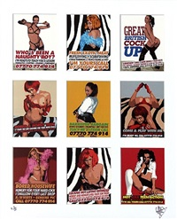prostitute/calling cards by goldie