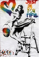 just be you tiful pin up multicoloured by rich simmons