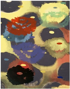 flora, selected prints, paintings, sculpture by ross bleckner