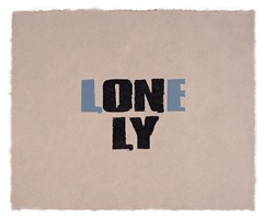 only the lonely by kay rosen