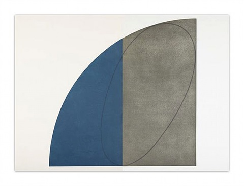 curved plane/figure 1 by robert mangold
