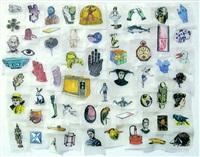 untitled (white gloves) by jane hammond