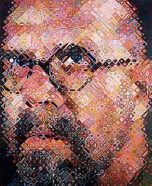 self portrait - 2000 by chuck close