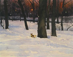 """emma in the snow"" (central park) by dan brown"