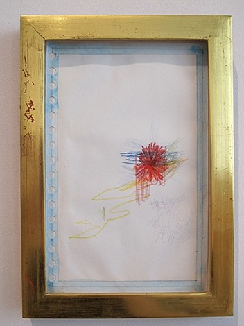 five-color drawing group iii by richard tuttle