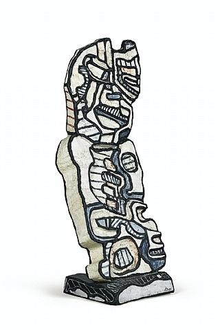 buste d'homme by jean dubuffet