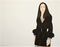 maria ii by alex katz