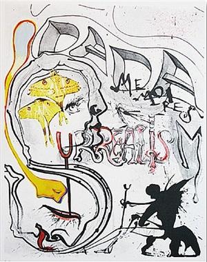 angel of dada surrealism by salvador dalí