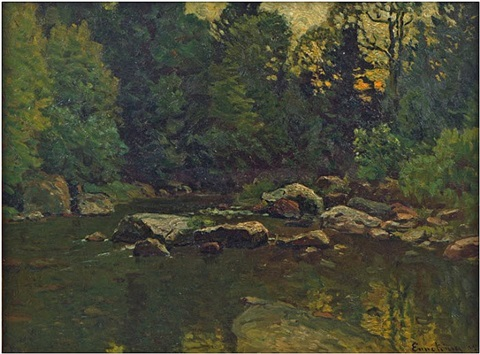 the trout brook by john joseph enneking