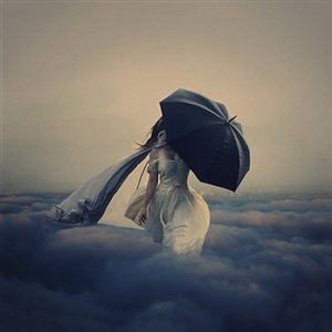 the storm above the clouds by brooke shaden