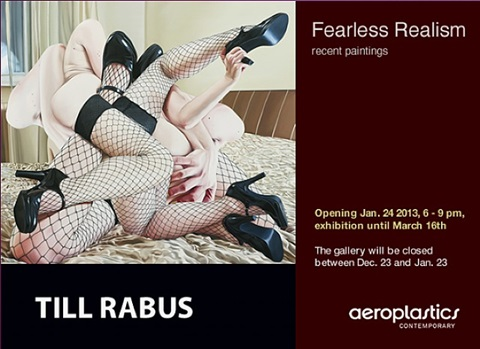 till rabus: fearless realism - recent oil paintings