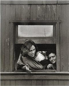 la muchacha (the girl), el trenecito series, ferrocarril viejo, méxico - cuautla by rodrigo moya