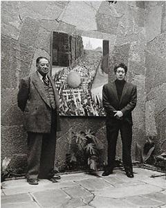 diego rivera y david alfaro siqueiros, galería emma hurtado, ciudad de méxico by rodrigo moya