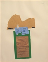 holland collage with gauloises by robert motherwell