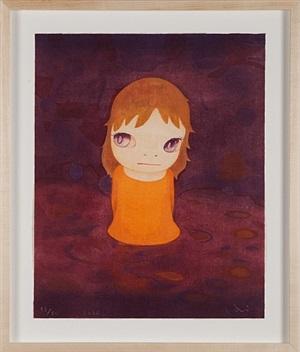 after the acid rain (night version) by yoshitomo nara