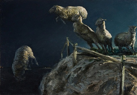untitled (dark sheep) by matt brackett