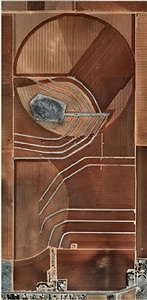 pivot irrigation #18, high plains, texas panhandle, usa by edward burtynsky