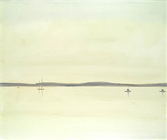 marine 10 am 2 by alex katz