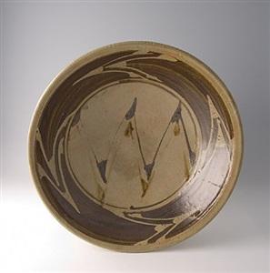 large bowl by shoji hamada