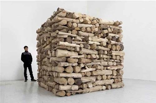 firewood by hu qingyan