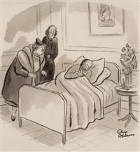 did you ever see anyone so changed as poor eustace? the doctor says it's the worst case of jaundice he's ever seen, new yorker magazine..., may 15 by charles addams