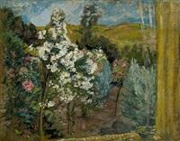 le jardin vu de la fenetre by henri lebasque