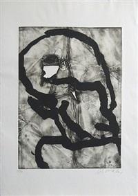 hommage á picasso by emil schumacher