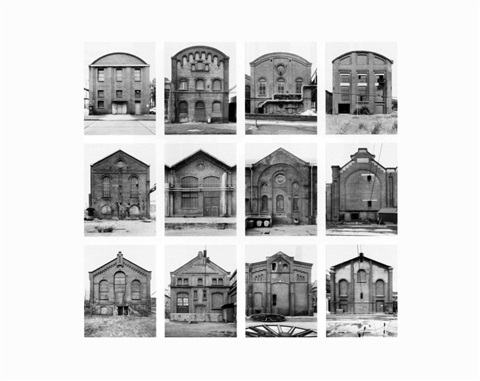 industriehallen industrial facades by bernd and hilla becher