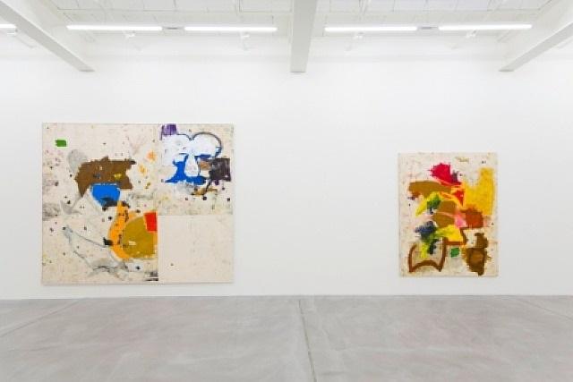 exhibition view by joe bradley