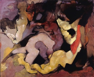 même les jeunes filles (even the young girls) by dorothea tanning
