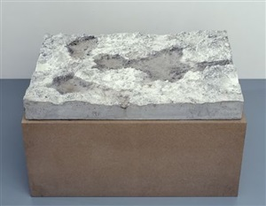 untitled (concrete landscape) by peter fischli and david weiss