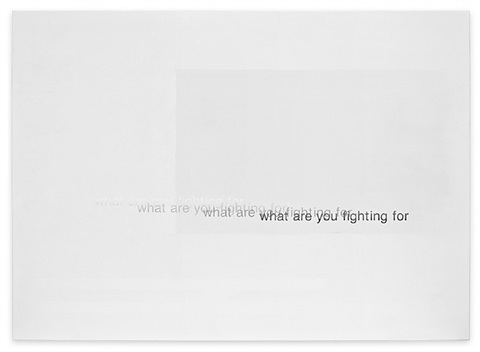 what are you fighting for by astrid klein