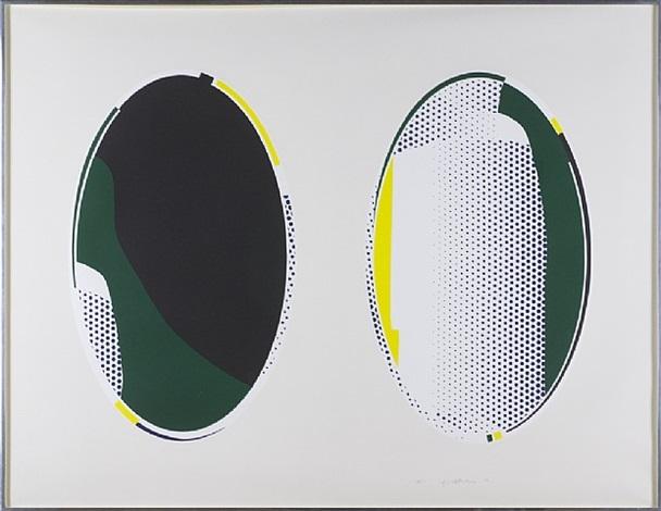 mirror #8 by roy lichtenstein