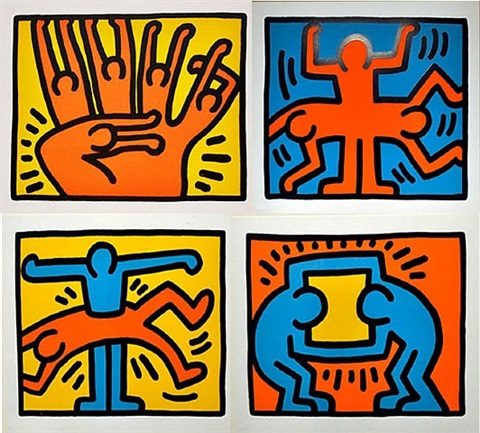 pop shop vi by keith haring