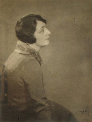 portrait of artist helen fleck seyffert by man ray