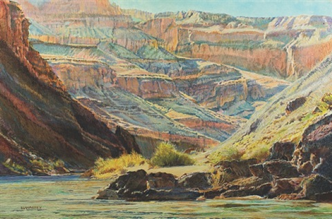 morning supergroup, grand canyon by merrill mahaffey